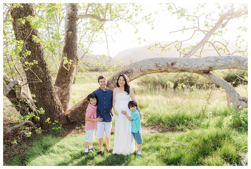 San Diego Family & Lifestyle Photographer - Dreamy Maternity Session at Mission Trails