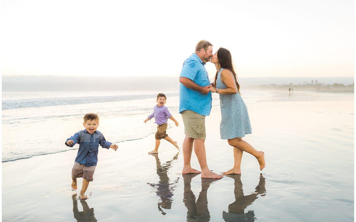 San Diego Family Photographer | Fun, Joyful & Light-filled Coronado Beach Session