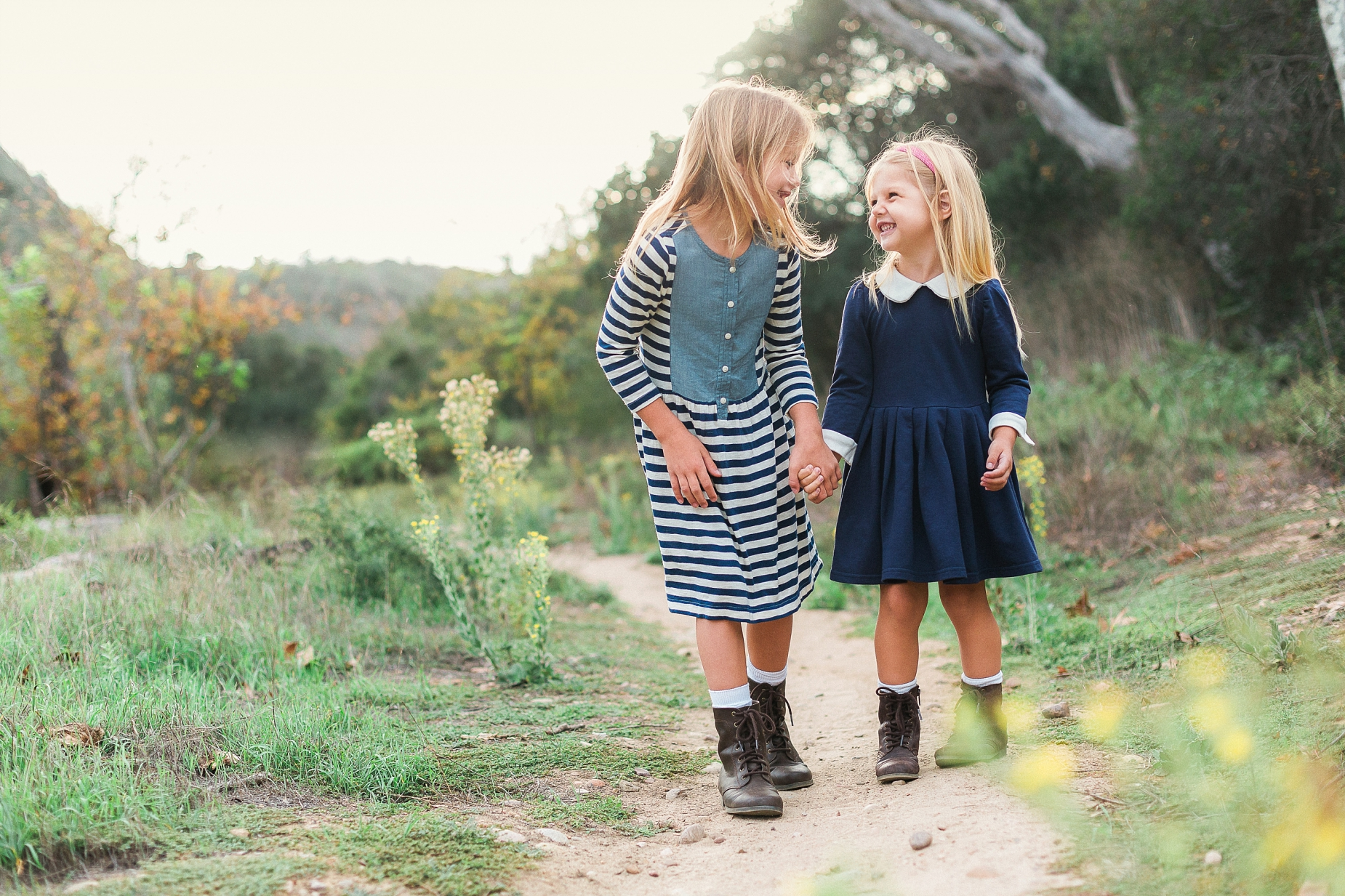 San Diego Family Photographer   Client outdoor nature session guide ...