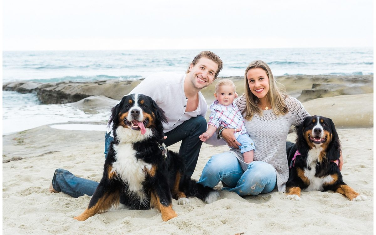 Beautiful La Jolla Beach Family Portrait Session featuring the happiest baby boy by Rachel Manning   San Diego Family Photographer