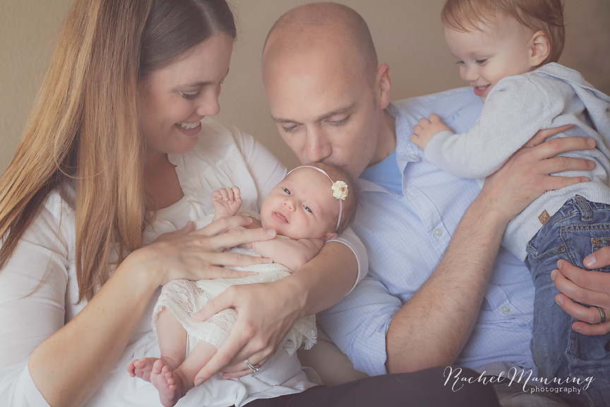 San Diego Newborn Lifestyle Photographer - Welcome to the world, Baby Casey!