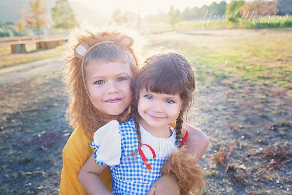 Wizard of Oz Halloween Styled Photo Session - San Diego Family Lifestyle Portrait Photographer