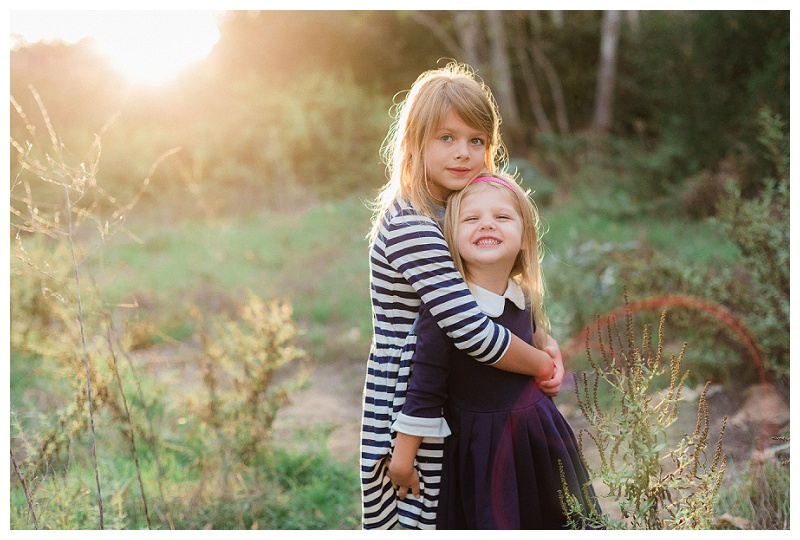 San Diego Family Photographer - Children's Siblings Session in La Jolla