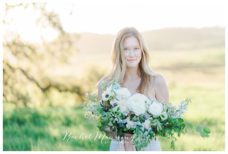 San Diego Wedding Photographer - Light, Airy & Ethereal Styled Bridal Session at Barnett Ranch Preserve, Ramona, CA