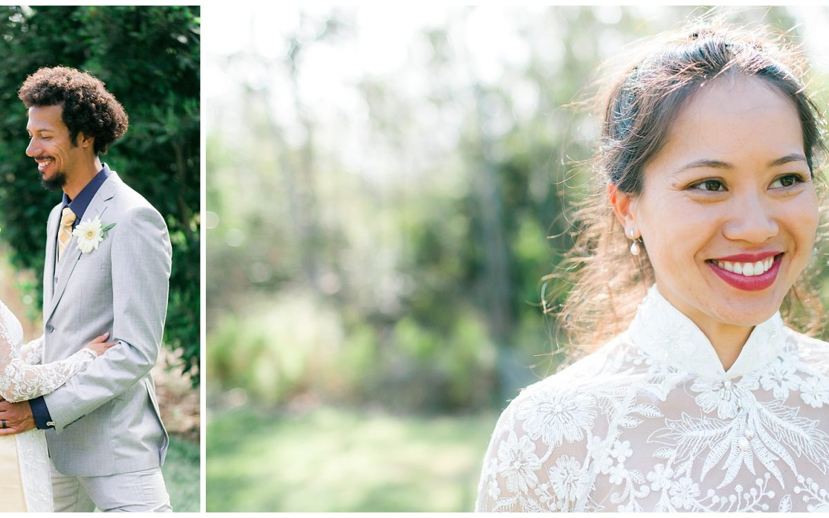 San Diego Photographer | Tam + Joel's Vietnamese Tea Ceremony & Wedding at San Dieguito Park
