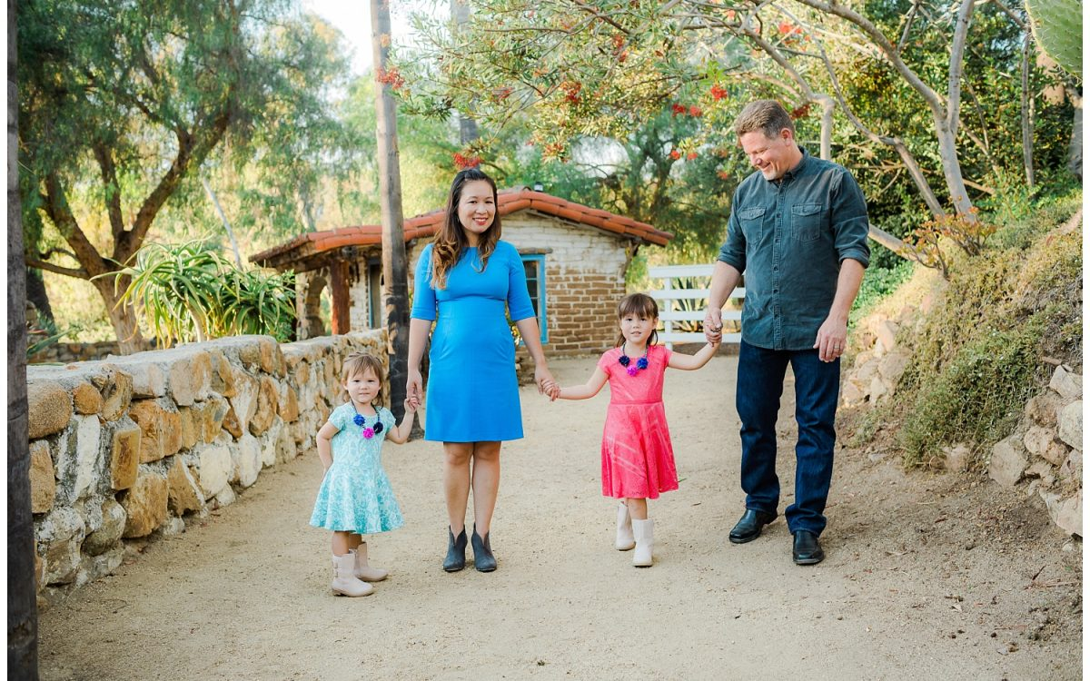 Fun & Colorful Portraits at Leo Carrillo Ranch by San Diego Family Photographer